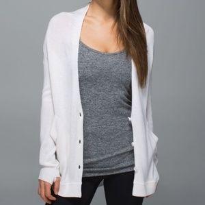 "Lululemon ""Cardi In The Front"""